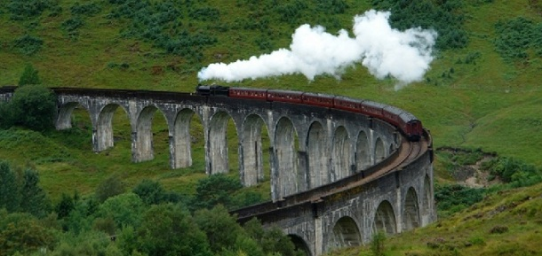 scottish steam train