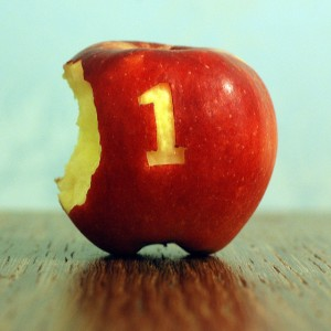 apple - 5-a-day - medium